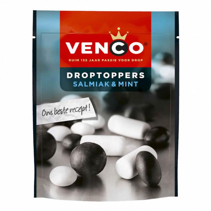 Venco Droptoppers Salmiak & Mint 270 g