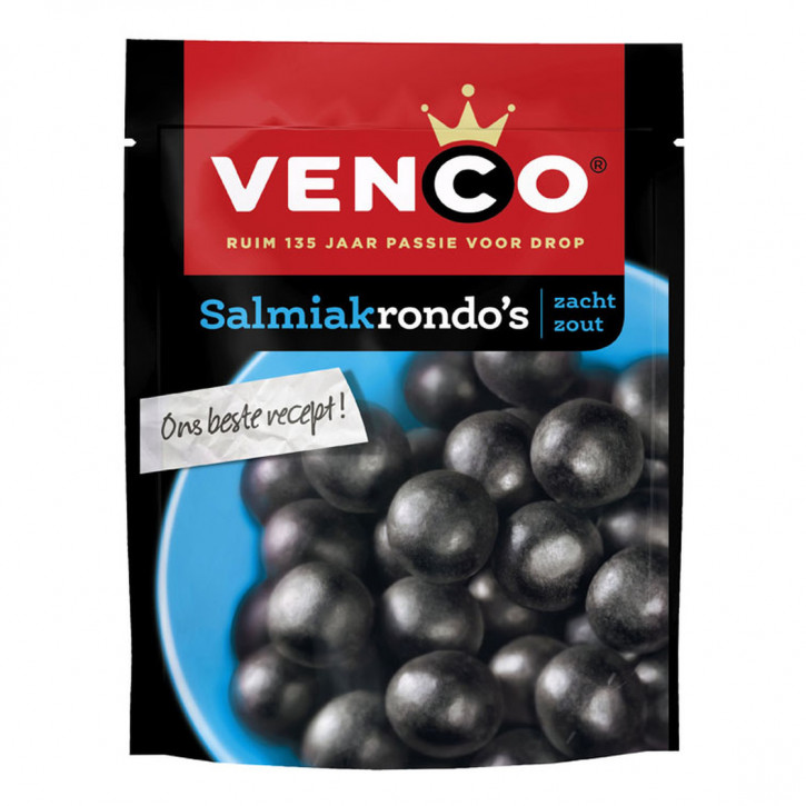 Venco Salmiakrondo's  260g