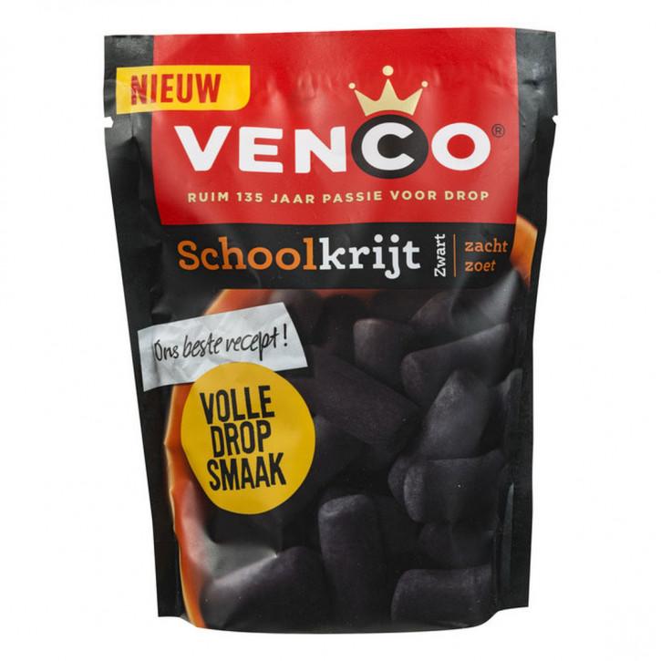Venco Lakritz Schoolkrijt schwarz 260 g